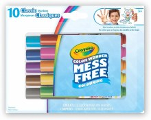 10 Crayons Colors Wonder