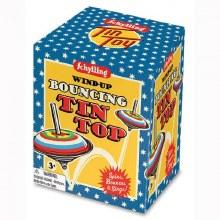 Toupie Bouncing Tin Top