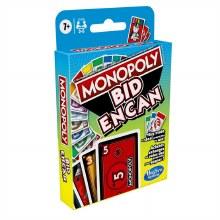 Monopoly Bid Game - Jeu de cartes