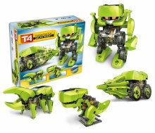 T4 Robot solaire transformable