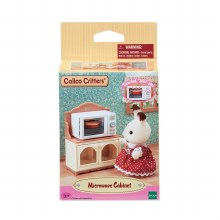Calico Critters - Four micro-onde