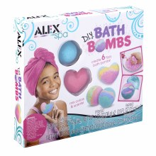 Boules de bain à fabriquer toi-même