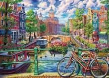 Casse-tête 1000 mcx - Amsterdam Canal