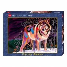 Casse-tête 1000 mcx - Night Wolf