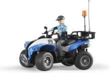 Quad et policière