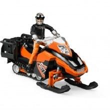 Motoneige avec conducteur et accessoires