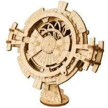 Wooden Mechanical Gears - Perpetual Calendar