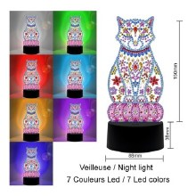 Jacarou Diamants - Lampe Chat