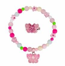 Bracelet & Bague - Papillon