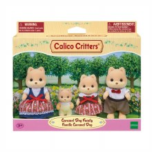 Calico Critters - Famille Caramel Dog