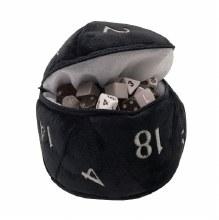 Dice Bag D20 Plush - Noir