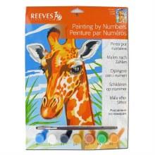 Peinture par numéros - Girafe