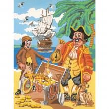 Peinture par numéros - Trésor de pirates