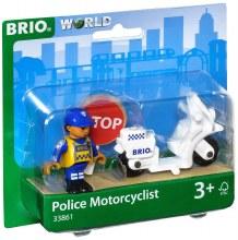 Motocyclette de police