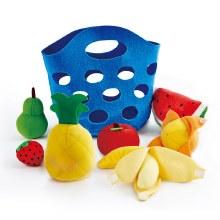 Panier de fruits en feutre