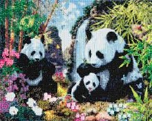 Crystal Art - Panda Valley - Large