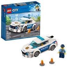 Voiture de patrouille policière