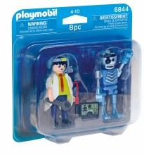 Duo inventeur et robot