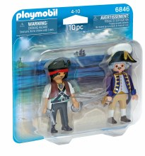Duo pirate et soldat royal