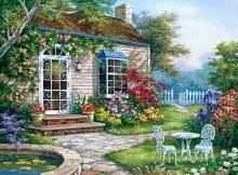 Peinture à Numéros - Terrasse Pintarde