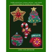 Jacarou Diamants - Décoration Noël - Canne