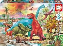 Casse-tête 100 mcx - Dinosaures