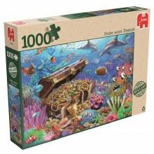 Casse-tête, 1000 mcx - Trésors sous-marins