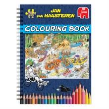 Livre à colorier Jan van Haasteren
