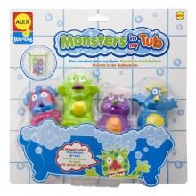 Des monstres dans mon bain