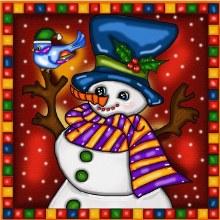 Jacarou Diamants - Bonhomme de neige