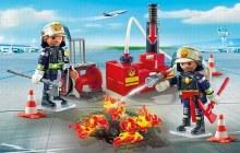 Opération lutte incendie
