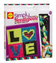 Simply Needlepoint - Love