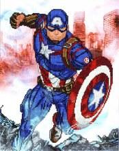 Diamond Dotz - Captain America