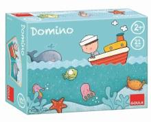 Domino en bois - la mer
