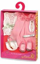 Robe rose et sac