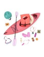 Ensemble d'aventurière en kayak