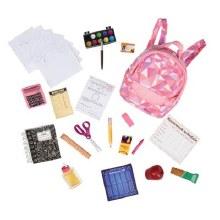 Ensemble d'accessoires d'école
