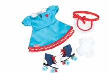 Ensemble patins retro