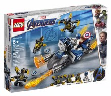 Marvel Avengers - Captain America L'attaque des Outriders