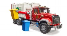 Camion recyclage Mack Granite Side Loading