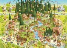 Casse-tête, 1000 mcx - Forêt noire