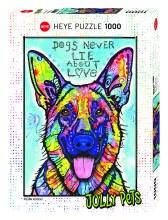 Casse-tête, 1000 mcx - Dogs never lie about love