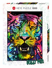 Casse-tête 1000 mcx - Tigre