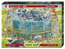 Casse-tête 1000 mcx - Funky Zoo - Habitat marin