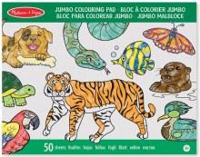 Pad à colorier Jumbo - Animaux