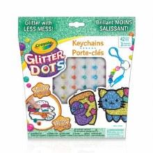 Glitter Dots - Keychain