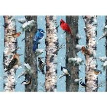 Casse-tête 1000 mcx - Oiseaux de Noel