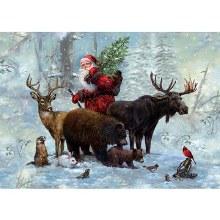 Casse-tête 1000 mcx - l'équipe du Père Noel