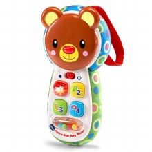 Peek-a-bear baby phone