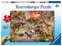 Casse-tête, 60 mcx - Bataille des dinosaures
